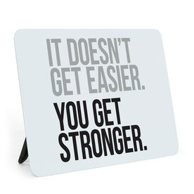 Running Desk Art - You Get Stronger