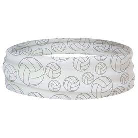 Volleyball Multifunctional Headwear - Tossed Ball Pattern RokBAND