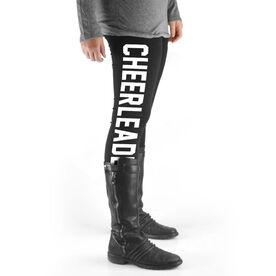 Cheerleading High Print Leggings - Varsity Cheerleader