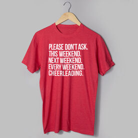 Cheerleading Short Sleeve T-Shirt - All Weekend Cheerleading
