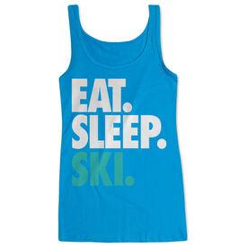 Skiing & Snowboarding Women's Athletic Tank Top Eat. Sleep. Ski.