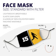 Baseball Face Mask - Personalized Batter