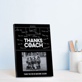 Soccer Photo Frame - Coach (Autograph)