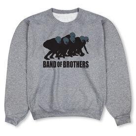 Football Crew Neck Sweatshirt - Football Band of Brothers