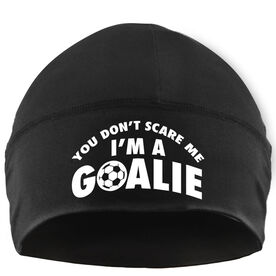 Performance Beanie Hat - I'm a Soccer Goalie
