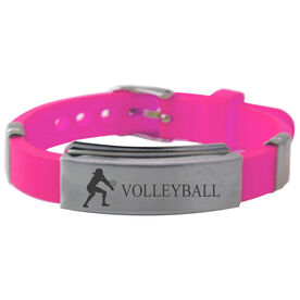 Volleyball Player Silicone Bracelet