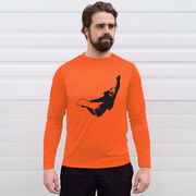 Snowboarding Long Sleeve Performance Tee - High Altitude