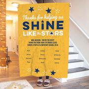 Personalized Teacher Premium Blanket - Shine Like Stars