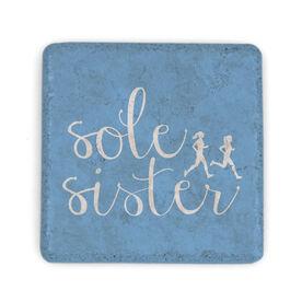 Running Stone Coaster - Sole Sister Script