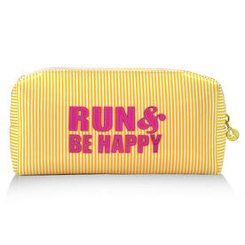 Run & Be Happy Runner's Cosmetic Bag - Lexi