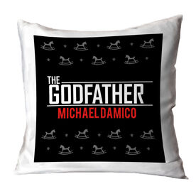 Personalized Throw Pillow - The Godfather