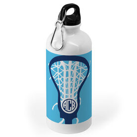 Girls Lacrosse 20 oz. Stainless Steel Water Bottle - Monogrammed Lax is Life