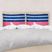 Gymnastics Pillowcase - Spotlight Stripes