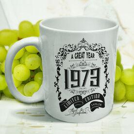 Vintage Wine Label Personalized Mug