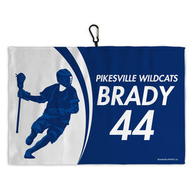 Lacrosse Bag Towels Personalized Player