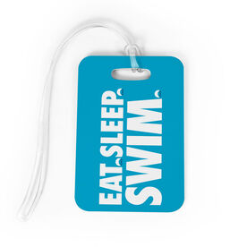 Swimming Bag/Luggage Tag - Eat Sleep Swim