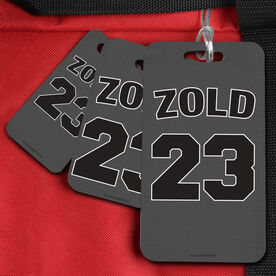 Basketball Bag/Luggage Tag Personalized Jersey