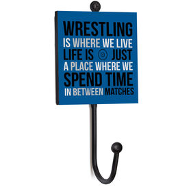Wrestling Medal Hook - Wrestling Is Where We Live