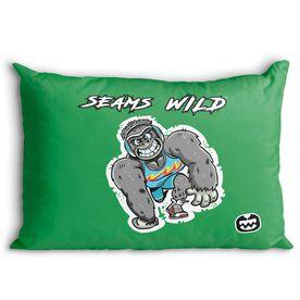 Seams Wild Wrestling Pillowcase - Gorsnore