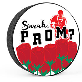 Personalized Prom Hockey Puck