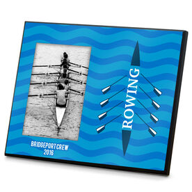 Crew Photo Frame Rowing Boat