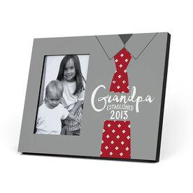 Personalized Photo Frame - Established Grandpa