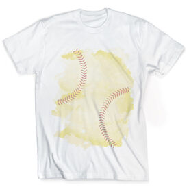 Vintage Softball T-Shirt - Stitches