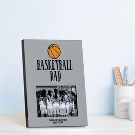 Basketball Photo Frame - Basketball Dad With Basketball