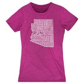 Women's Everyday Runners Tee Arizona State Runner