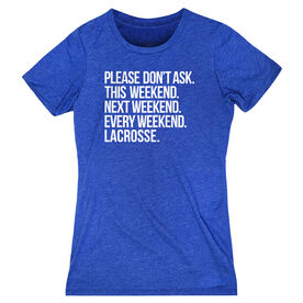 Lacrosse Women's Everyday Tee - All Weekend Lacrosse