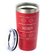 Hockey 20 oz. Double Insulated Tumbler - Rink
