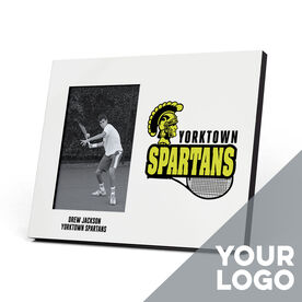 Tennis Photo Frame - Custom Logo