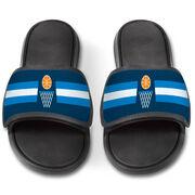 Basketball Repwell® Slide Sandals - Simple Stripe
