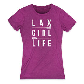 Girls Lacrosse Women's Everyday Tee - Lax Girl Life