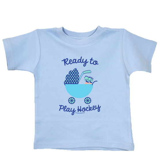 Ready To Play Hockey Baby T-Shirt
