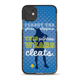 Softball iPhone® Case - This Princess Wears Cleats