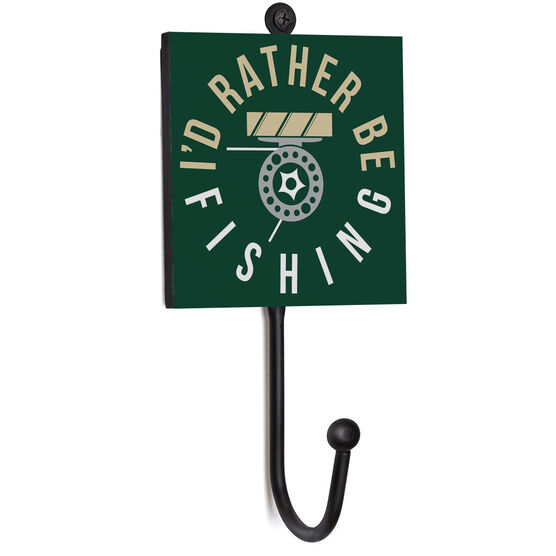 Fly Fishing Medal Hook - I'd Rather Be Fishing