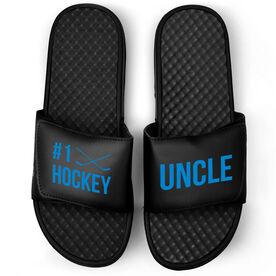 Hockey Black Slide Sandals - #1 Hockey Uncle