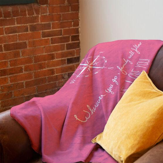 Personalized Premium Blanket - Wherever you go