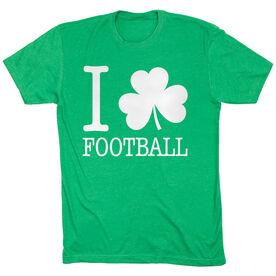 Football Tshirt Short Sleeve I Shamrock Football