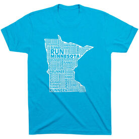 Running Short Sleeve T-Shirt - Minnesota State Runner