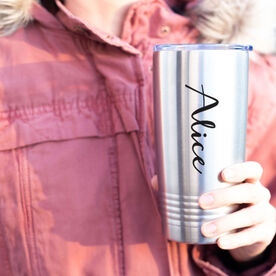 Personalized 20 oz. Double Insulated Tumbler - Your Name Script