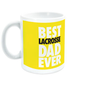 Girls Lacrosse Coffee Mug Girls Best Dad Ever
