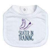 Figure Skating Baby Bib - Skater In Training