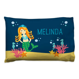 Personalized Pillowcase - Mermaid