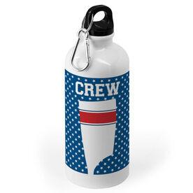 Crew 20 oz. Stainless Steel Water Bottle - Patriotic Oar