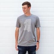 Running Short Sleeve T-Shirt - Mississippi State Runner