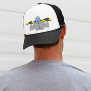 Skiing Trucker Hat - Yeti