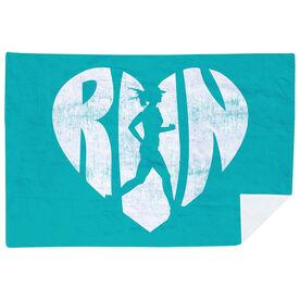 Running Premium Blanket - Love The Run