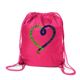 Field Hockey Sport Pack Cinch Sack Live Love Play Field Hockey